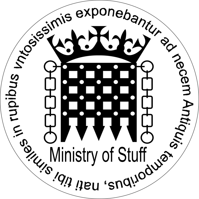 THE MINISTRY OF STUFF
